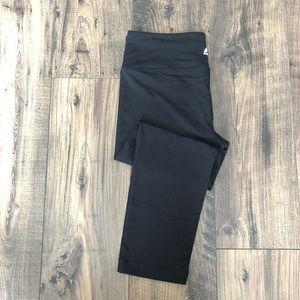 RBX Black Leggings Capri Bottoms Active Pants sz L